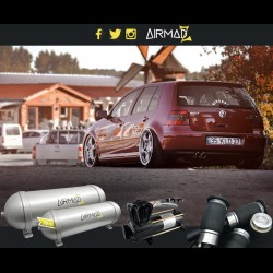 VW GOLF MK4 - Air Ride Kit