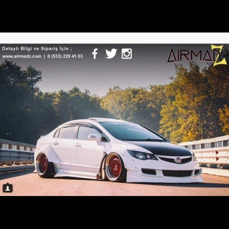 Honda Civic FD6 - Air Ride Kit