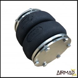 AirMadZ Double Bellow Convoluted Front